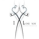 I Love You by Andreas Stridsberg