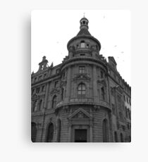 Old architecture Canvas Print