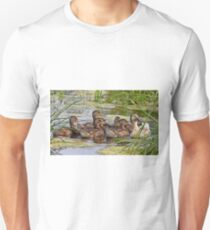 Momma duck and her kids T-Shirt