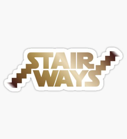 Stair Ways v2 Sticker