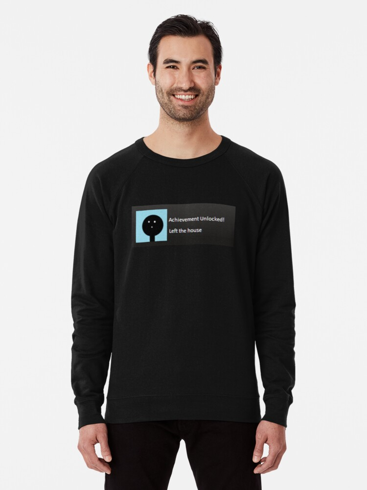 'Achievement Unlocked - Steam version' Lightweight Sweatshirt by Rarah