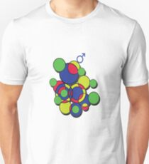 Circles of colour! Unisex T-Shirt