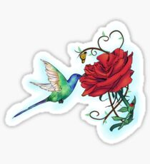 Mother's Nature Rose (Redbubble Challenge Entry) Sticker