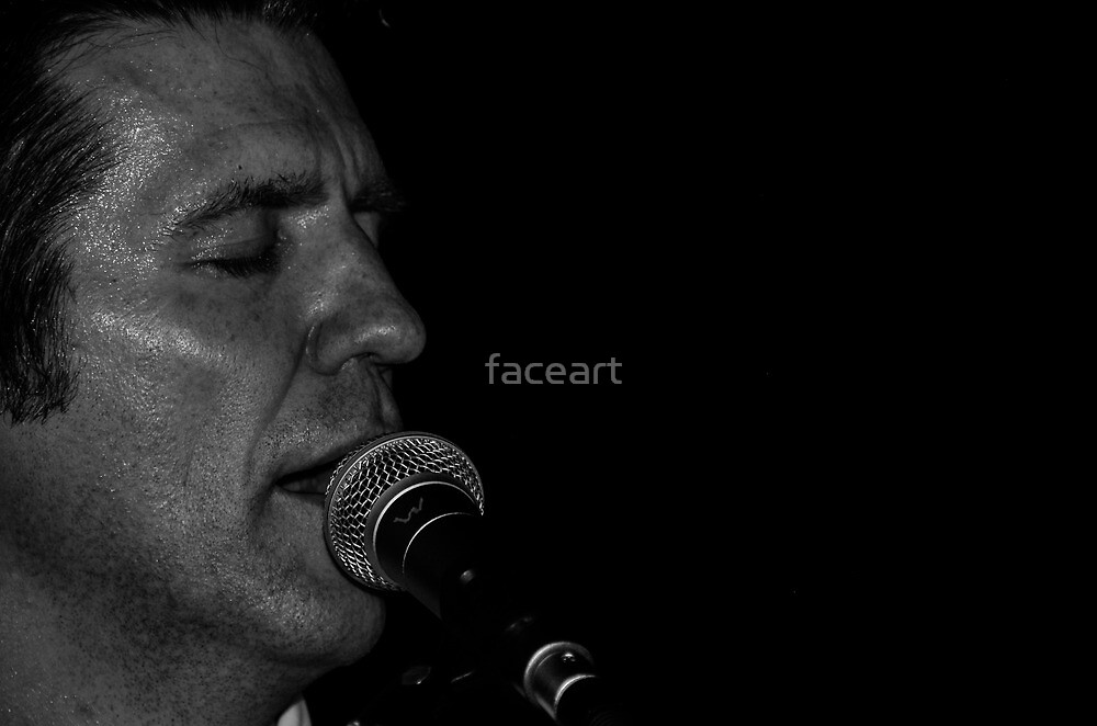Jimmy Beat in concert 2 by faceart
