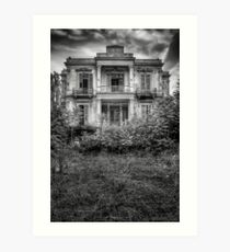 The Salem Mansion v2 Art Print