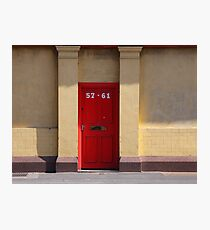 57-61 Regent Road, Liverpool, England Photographic Print