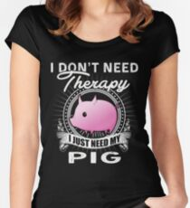 PIG Women's Fitted Scoop T-Shirt