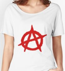 Anarchy Shirt Women's Relaxed Fit T-Shirt