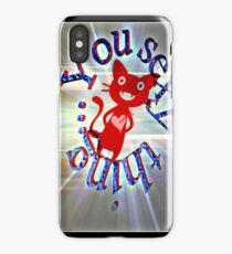 You sexy thing...  iPhone Case/Skin