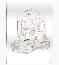 Steampunk Cloud Poster