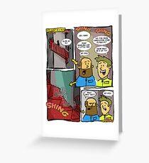 Silo Toon #1 Greeting Card