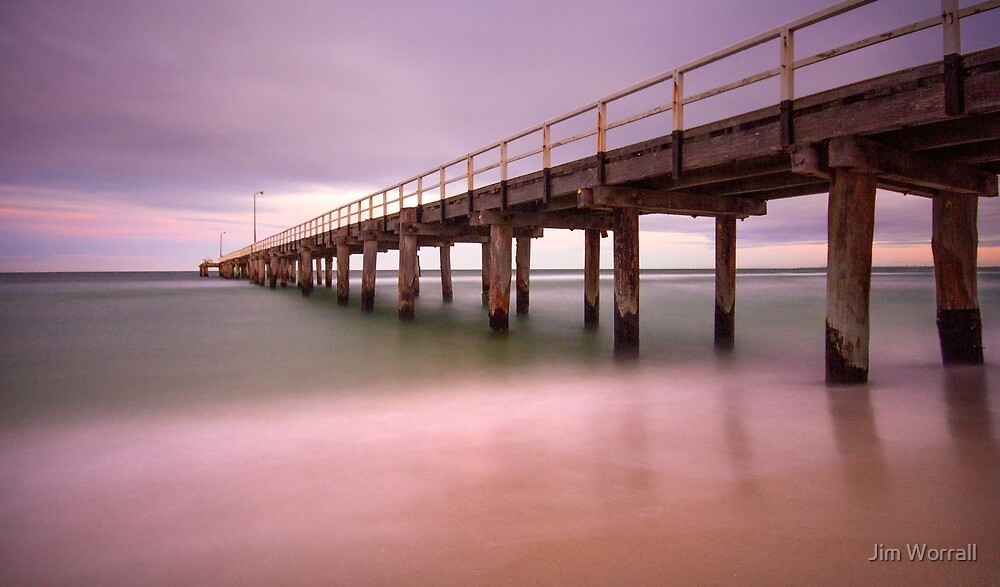 Seaford Pier by Jim Worrall
