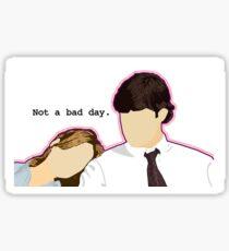 Jim and Pam - Custom L.C. Sticker
