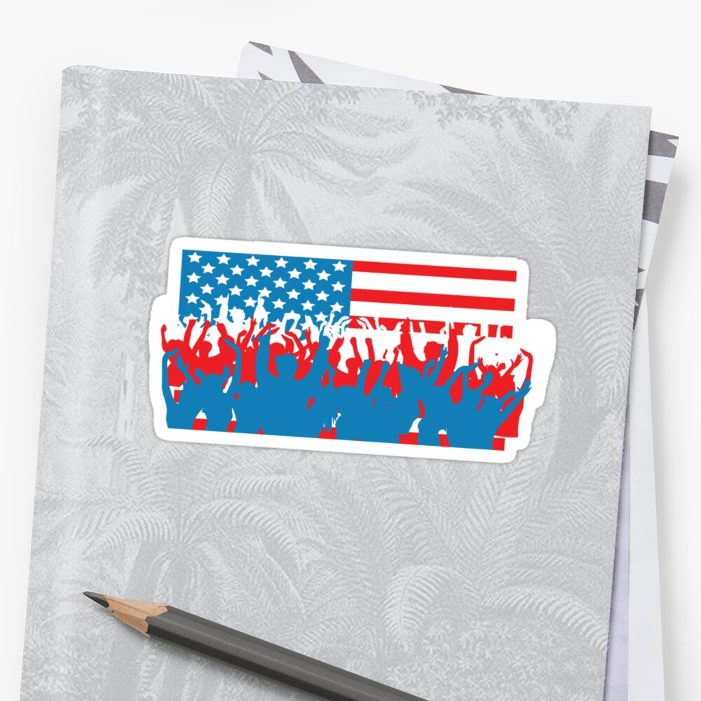 4th July Flag Celebrations by CarbonClothing
