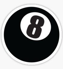 8 Ball Sticker
