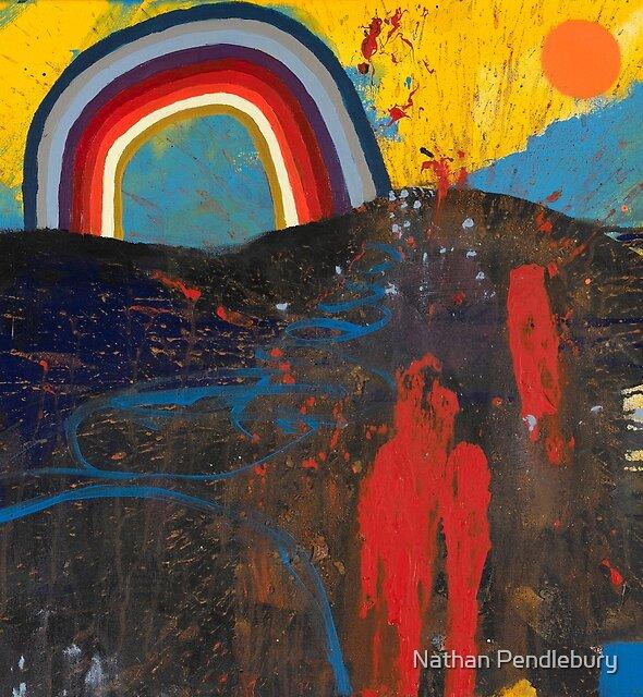 Number 2 (Rainbow Series) by Nathan Pendlebury