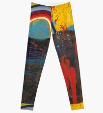 Number 2 (Rainbow Series) Leggings