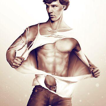 Sexy Benedict Cumberbatch / Sherlock V1 by Springintveld