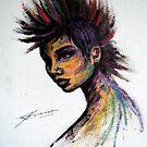 Mohawk Girl by Jeanette  Treacy