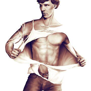 Sexy Benedict Cumberbatch / Sherlock V2 by Springintveld