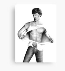 Sexy Benedict Cumberbatch / Sherlock V3 Canvas Print