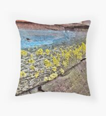 Mossy Homes Throw Pillow