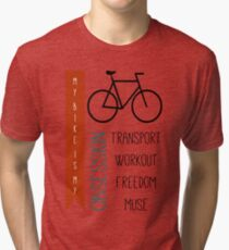 Bicycle obsession Tri-blend T-Shirt