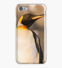 King Penguin at Gold Harbour iPhone Case/Skin