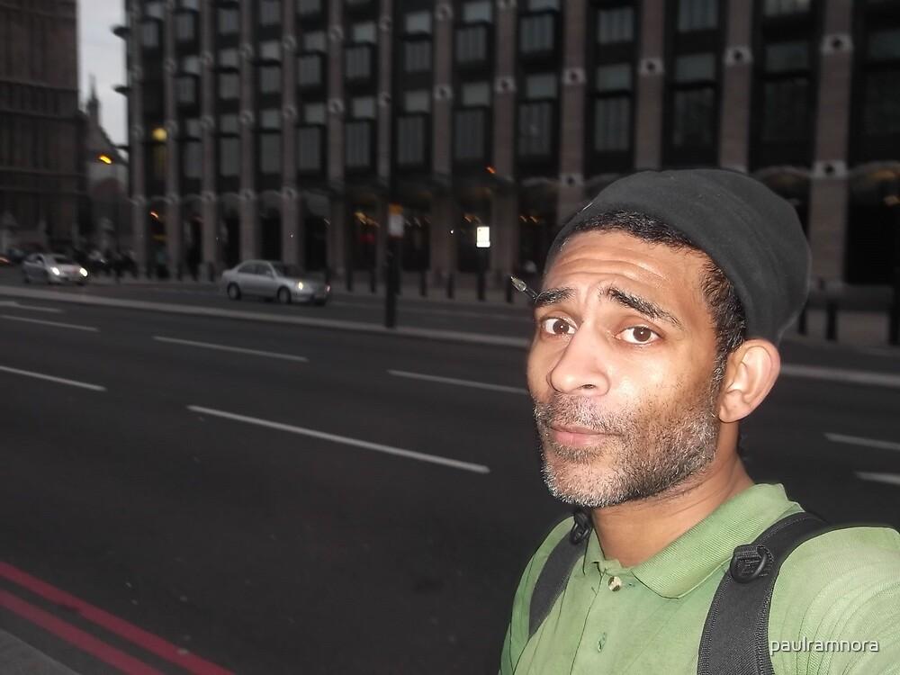 Self-portrait/London -(050513)- Digital photo/FujiFilm FinePix AX350 by paulramnora