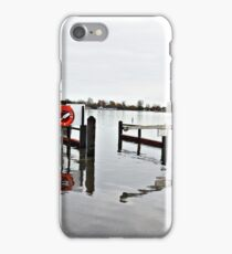 The Tides at Bosham seem to be getting higher iPhone Case/Skin