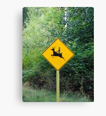 Rudolph, the Red Nose Reindeer Canvas Print