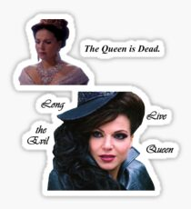 The Queen is Dead Sticker