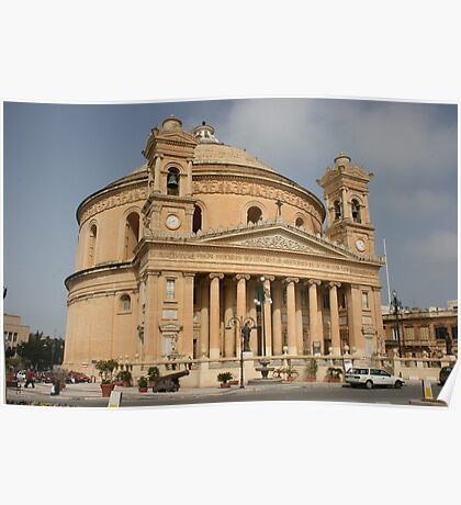 The Mosta Dome Poster