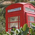 Keep calm and hide in phone box by Profo Folia