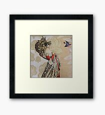 Contemplating Flight Framed Print