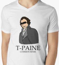 T-Paine & Common Sense Men's V-Neck T-Shirt