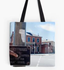 instructions for pedestrians Tote Bag