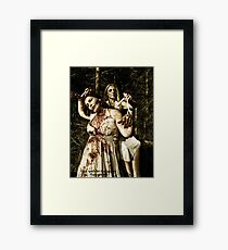 the puppet master Framed Print