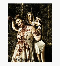 the puppet master Photographic Print