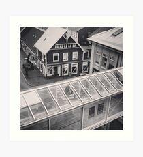 downtown reykjavík Art Print