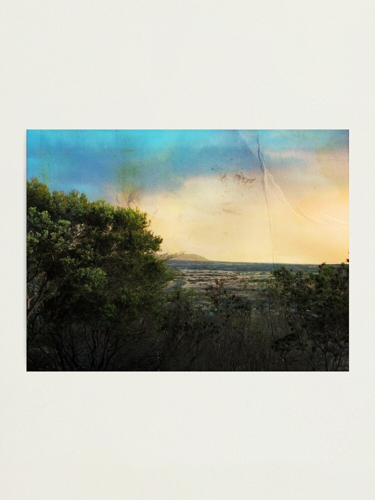 Alternate view of Dusk in Waikoloa #2 Photographic Print