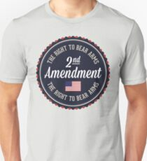 Second Amendment Slim Fit T-Shirt