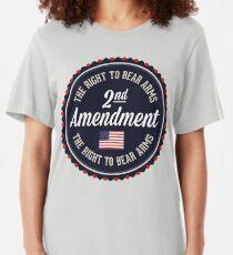 Second Amendment Slim Fit T-Shirt