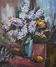 The Blue Vase II by Stefano Popovski