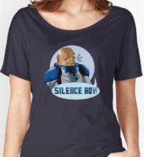 SILENCE BOY!! Women's Relaxed Fit T-Shirt