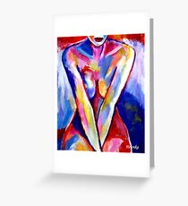 """""""The waiting"""" Greeting Card"""