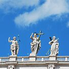 Watching Over the Vatican by Emily McAuliffe