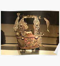 Torah Crown Burned in the Holocaust, Israel Museum, Jerusalem Poster