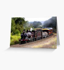 Train 3265 02 Greeting Card