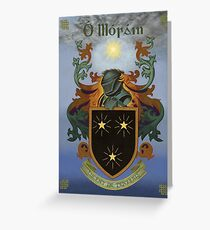 Moran Coat of Arms Greeting Card